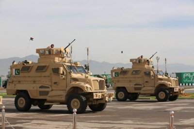 Navistar supplying MRAP armored vehicles to Pakistan, UAE