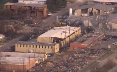 Warehouse explosion rocks Houston neighborhood; one person missing