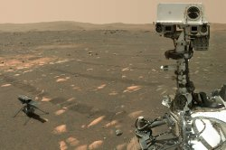 Tiny Mars helicopter set for first flight Sunday