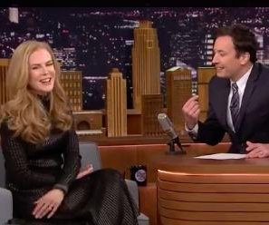 Nicole Kidman reveals old crush for Jimmy Fallon on 'Tonight'