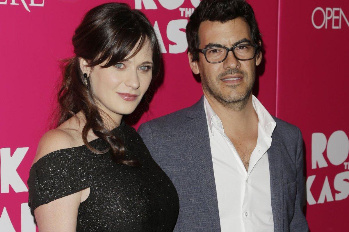 Emily deschanel and husband