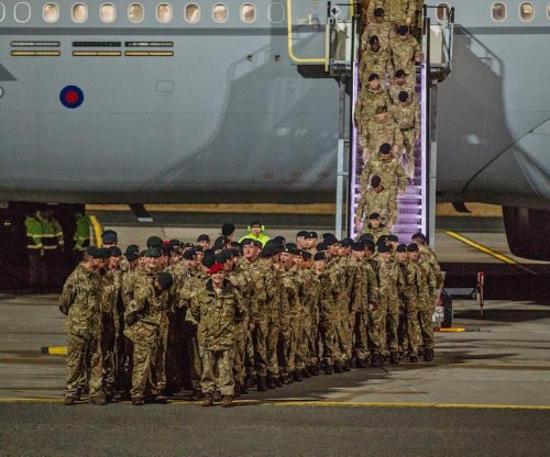 U.K. sends 120 troops to Estonia for NATO mission