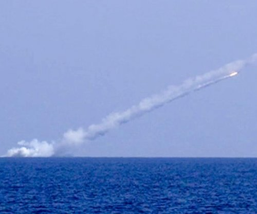 Russia fires cruise missiles at IS militants, equipment in Syria