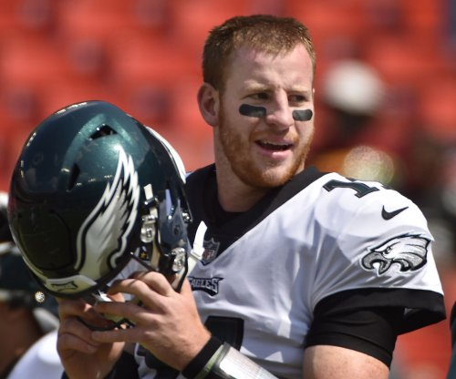 Carson Wentz: Philadelphia Eagles quarterback wins NFC Offensive Player of Week honors