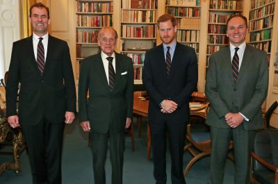 Prince Harry succeeds Prince Philip in Royal Marines role