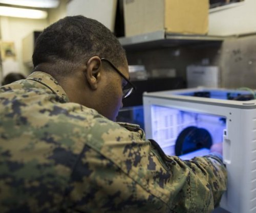 Marines 3D-print replacement part for F-35