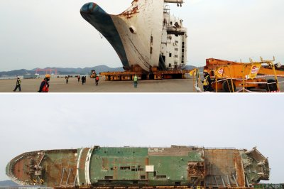 On This Day: South Korea ferry sinking leaves 300 dead