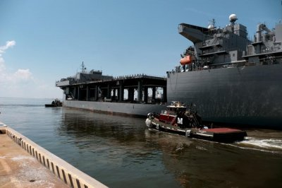 USS 'Woody' Williams leaves for Africa on inaugural deployment