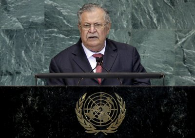 Talabani airs opposition to Aziz sentence