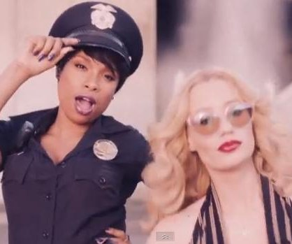 Jennifer Hudson, Iggy Azalea star in 'Trouble' music video