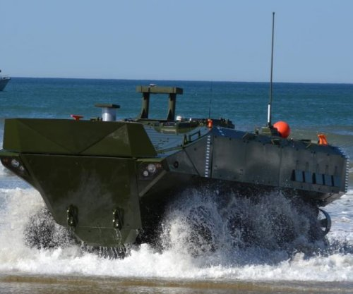 BAE Systems bids for Marine Corps amphibious vehicle contract