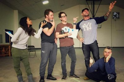 Chris Pratt starts work on 'Guardians of the Galaxy 2'