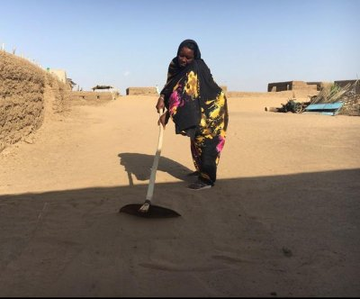 Sudanese villages are being swallowed by desert sands