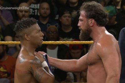 WWE NXT: Lio Rush, Drew Gulak clash over Cruiserweight title
