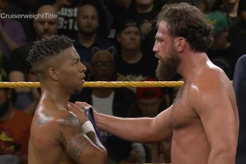 WWE-NXT-Lio-Rush-Drew-Gulak-clash-over-C