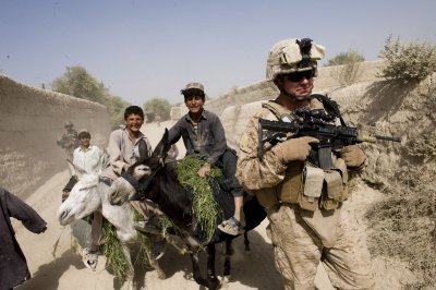 Study: Afghan War vets are stressed out