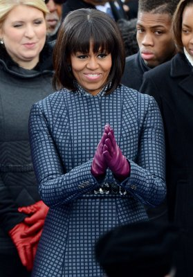 First lady wears Thom Browne to ceremony