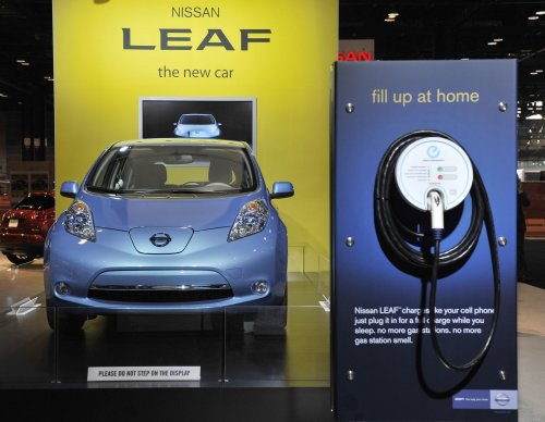 Nissan Leaf outselling Chevy Volt