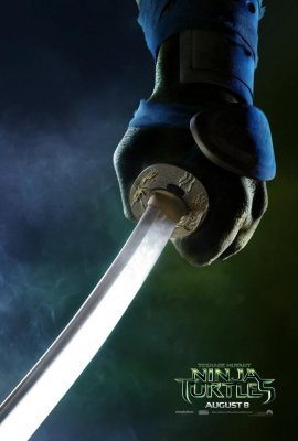 New 'Teenage Mutant Ninja Turtles' posters highlight each turtle's weapon of choice