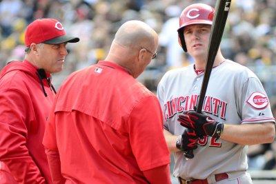 Scott Schebler delivers late as Cincinnati Reds top Philadelphia Phillies