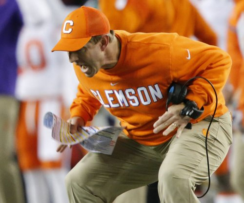 Clemson's Dabo Swinney repeats as 'Bear' Bryant Coach of the Year