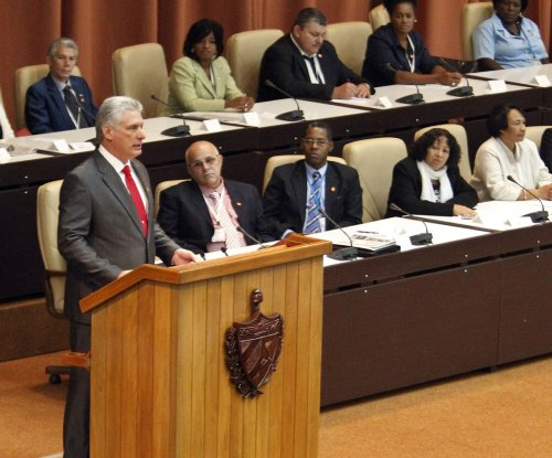 Cuba gives one of the permits needed for oil drilling