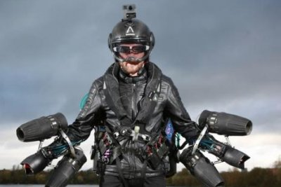 Man to attempt human flight suit record on Guinness World Record Day