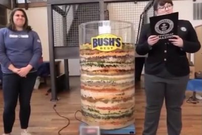 70-layer bean dip achieves Guinness World Record