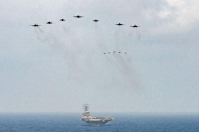 Reagan carrier in Middle East to assist with Afghanistan drawdown