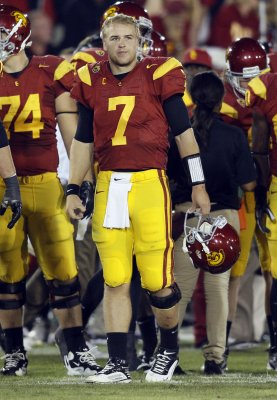 QB Barkley to stay at USC