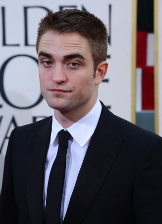 Robert Pattinson hits the set in 'Life'