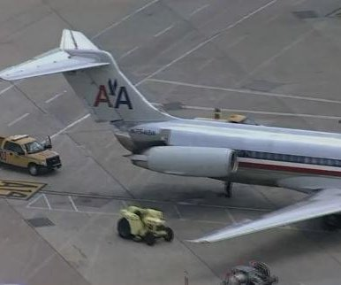 Plane evacuated at Dallas-Fort Worth airport over fire, smoke
