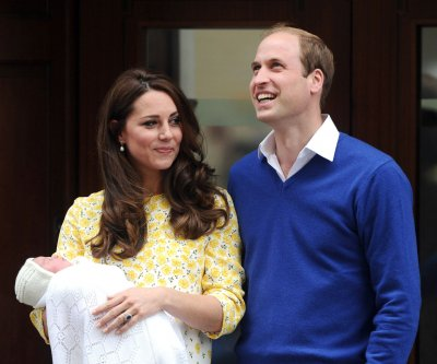 Prince William and Kate Middleton share pre-birthday photos of Princess Charlotte