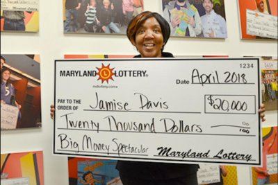 Maryland Lottery winner's dream foretold big win