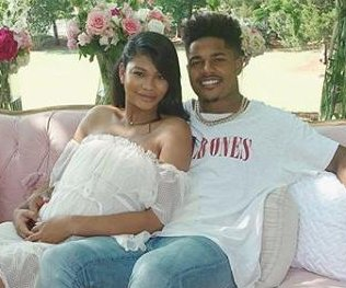 Chanel Iman expecting daughter with Sterling Shepard