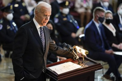 Biden honors slain Capitol officer: 'When will defies fear, that is heroism'