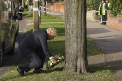 Slain MP David Amess to be honored; deputy PM says online hate 'out of control'
