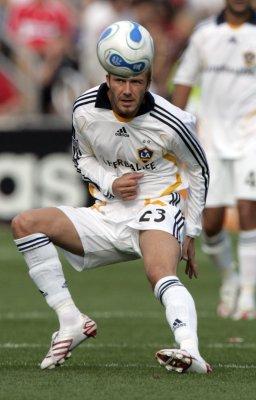 Beckham left off England soccer team