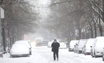 Eastern U.S. to get very brief break from icebox weather this weekend
