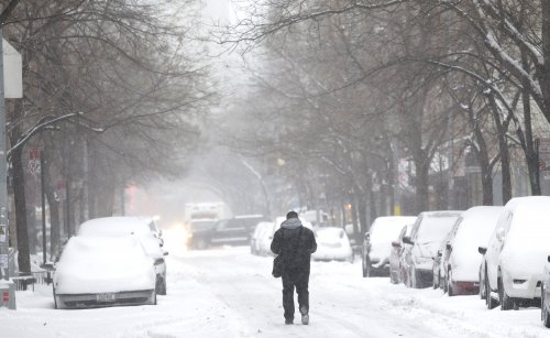Eastern U.S. to get very brief break from icebox weather this weekend