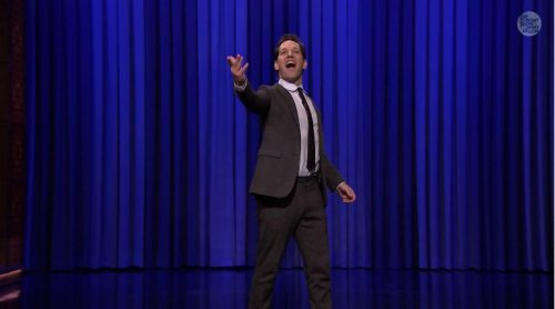 Paul Rudd, Jimmy Fallon throw down in lip sync battle