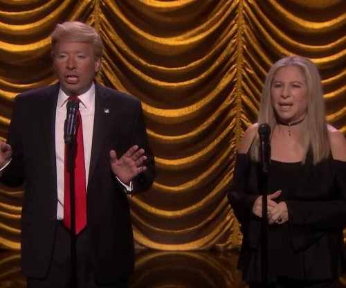 Barbra Streisand, Jimmy Fallon as Donald Trump sing comedic duet on 'Tonight Show'