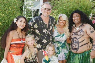 Jessica Simpson throws son 'Moana'-themed birthday party