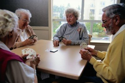 Socializing helps ward off mental decline in the aging brain, study shows