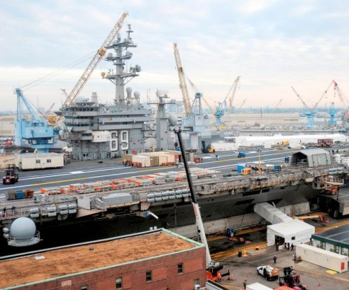 U.S. Navy awards Northrop Grumman shipyard maintenance contract