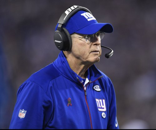 Giants' Tom Coughlin focuses on games from hot seat