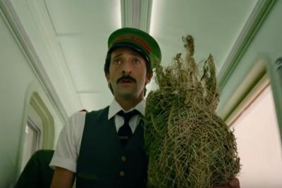 Adrien Brody stars in Wes Anderson's Christmas short for H&M stores