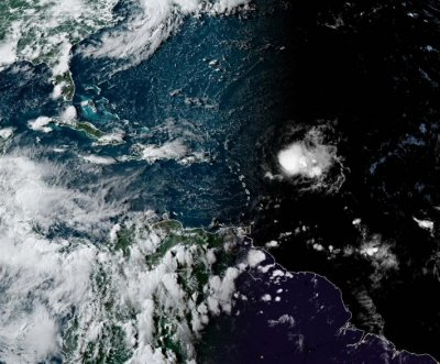 Record-setting Tropical Storm Josephine to brush Leeward Islands