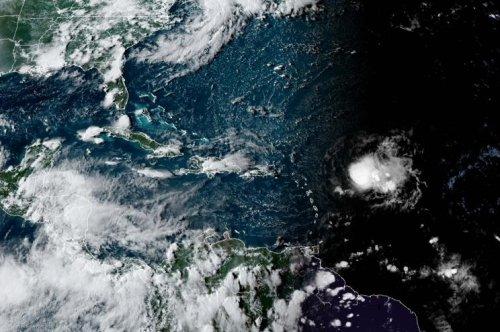 Record-setting Tropical Storm Josephine to brush Leeward Islands