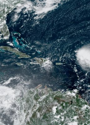 Tropical Storm Josephine to veer away from U.S. mainland